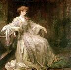 油絵 Sir James Jebusa Shannon_すみれ色のラトランド公爵夫人