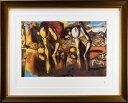 【版画】【中古】 ナルシスの変貌 リトグラフ 本人鉛筆サイン サルバドール・ダリ(Salvador Dali)
