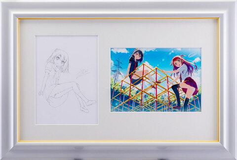 【版画】【中古】 スケッチ しまいまいジム 鉛筆 本人 鉛筆 サイン カントク(Kantoku)