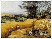 ピーテル・ブリューゲル「穀物の収穫」