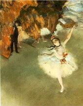 エドガー・ドガ「舞台の踊り子」