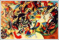 ワシリー・カンディンスキー「CompositionVII」
