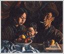 複製画 送料無料 プレミアム 学割 絵画 油彩画 油絵 複製画 模写小出楢重「Nの家族」 F10(53.0×45.5cm)サイズ プレゼント ギフト 贈り物 名画 オーダーメイド 額付き
