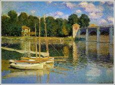 クロード・モネ「アルジャントゥイユの橋」