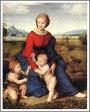 ラファエロ・サンティ「ベルヴェデーレの聖母」