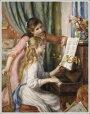 ルノアール(ルノワール)「ピアノに寄る娘たち」
