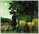 複製画 送料無料 プレミアム 学割 絵画 油彩画 油絵 複製画 アンリ・ルソー「蛇使いの女」 F20(72.7×60.6cm)サイズ プレゼント ギフト 風水 名画 絵画 油絵複製画 オーダーメイド 無料額縁付き