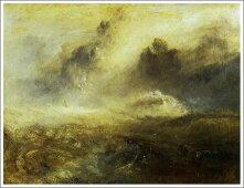 ウィリアム・ターナー「難破船のいる荒れた海」