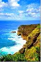 沖縄 与那国島の海 風景写真パネル インテリア ディスプレイ タペストリー 海の風景 新築祝い 引っ越し祝い 母の日のプレゼント ウォールデコ BIG-34-M50