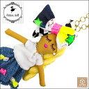【送料無料】ルルベちゃん バッグチャーム ドールチャーム 人形 手作り ハンドメイド 一点物