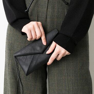 【あす楽】長財布 財布 レディース 大人可愛い 本革 レザー 薄い 薄型 軽い ブラック チョコ ブラウン キャメル ベージュ おすすめ イタリアンレザー 本革エンベロープウォレット