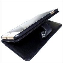 即納/本革イタリアンレザーアイフォン8プラスブックケース/ArtemisClassic/アルテミスクラシック