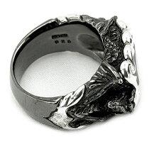 ブラック・ストーンドラゴンリング(ブラックorクリアジルコニア)/指輪/ArtemisClassic/アルテミスクラシック