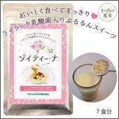 ライラック乳酸菌のはいった甘さ控えめ・大豆のスイーツ【ソイティーナ】(ヨーグルト風味)2個セット