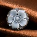 お花の高品質カメオ ルチアーノ・ジャンニーニ作 色々なカメオ製品に製作できます カメオペンダントにお勧め 品質保証書/カメオ作家保証書付 カメオデザイン手提げ袋付き 送料無料