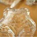 【名入れ】ガラスケース(ツインハート柄)星型 【小物入れ ジュエリーボックス 指輪 リング 収納 ガラス 贈り物 記念品 ギフト プレゼント おすすめ おしゃれ かわいい 女性 友達 友人 結婚祝い 内祝い 引出物 婚約祝い 結婚記念 誕生日】 1