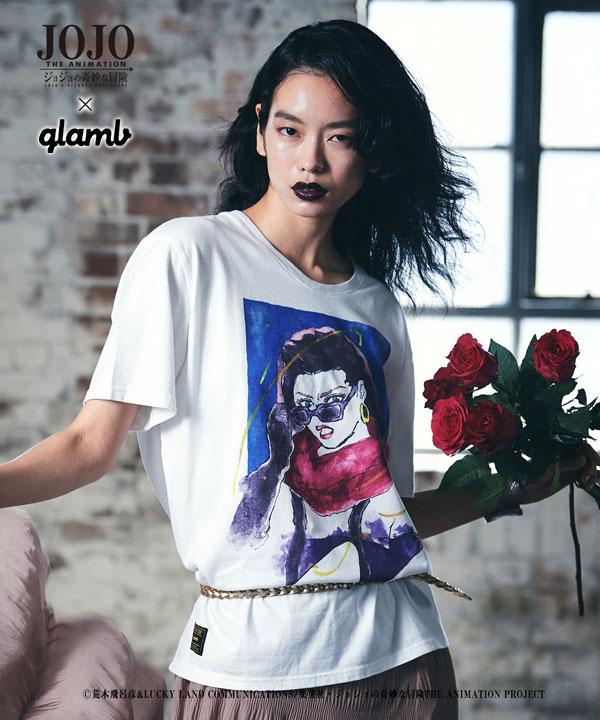 トップス, Tシャツ・カットソー glamb 4 glamb Lisa Lisa T T T JoJo 2021SPOT