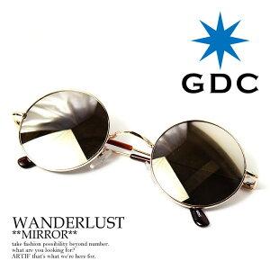 GDC (ジーディーシー) WANDERLUST【眼鏡 めがね サングラス 丸メガネ メンズ …