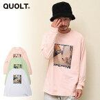 2021 冬 先行予約 1月上旬〜中旬入荷予定 QUOLT クオルト MUNCHEN-DOG TEE メンズ Tシャツ 送料無料 キャンセル不可
