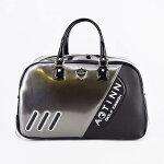 ARTINN二色スタイリッシュスポーツキャスター付きボストンバッグ(グレー・ブラック)