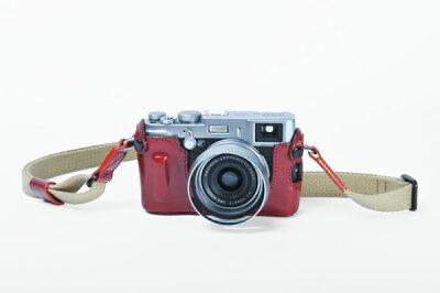 FinePix X100専用ボディケース/ストラップセット LMB-X100Sカメラケース LMB-X100S アルティ...