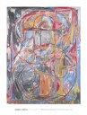【ジャスパー・ジョーンズ アートポスター】0 through 9, 1961(660×860mm)