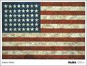 【ジャスパー・ジョーンズ アートポスター】Flag, 1954(740×968mm)