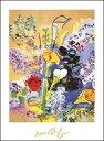 【アートポスター】ブーケ(60cm×80cm) -デュフィ-