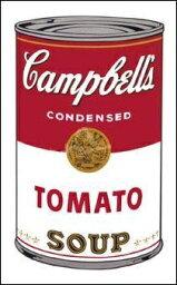 【アートポスター】キャンベルスープ I (トマト) 1968年(508x762mm) -ウォーホル- おしゃれインテリアに