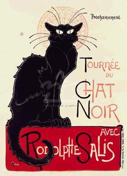 【アートポスター】Tournee du Chat Noir(660mm×915mm) -スタンラン-
