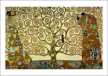 生命の木(70cmx100cm) -クリムト-