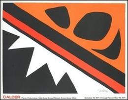 Frog and Cie(リトグラフ)635×826mm -カルダー-