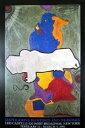 【ジャスパー・ジョーンズ】Untitled, 1990(661×991mm)