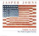 【ジャスパー・ジョーンズ】Three Flags(661×711mm)