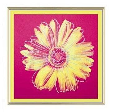 デイジー1982年(フクシア色と黄色)(530×530×7.5mm)...