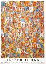 【ジャスパー・ジョーンズ ポスター】Numbers in Color(700×1000mm) ナンバーズインカラー