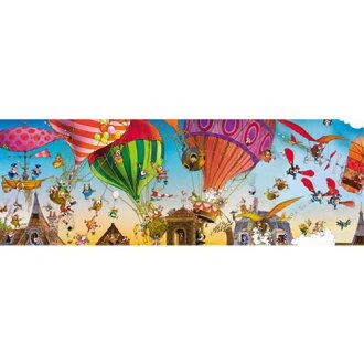 荷葉拼圖 heipuzzle 29756 盧普︰ 乘坐熱氣球 1000年片