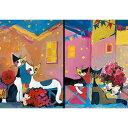 HEYE Puzzle・ヘイパズル 29579-85 Rosina Wachtmeister : Bouquets & Posies 1000ピース x 2