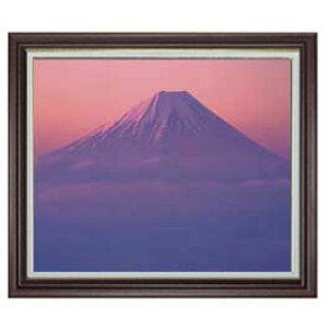 公吨。Fuji-Aya-F20尺寸【油画笔迹完成】【带框架】油画山水画原始室内装饰画风水棕色框架和其他各种887×766 mm免运费