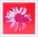 アンディ・ウォーホル「デイジー(クリムゾン&ピンク)Daisy,c 1982」展示用フック付ポスター ポップアート【インテリア】【アート】【アンディウォーホル】【アンディ ウォーホル】【絵画インテリア】