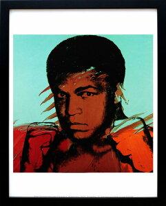 アンディ・ウォーホル「モハメド・アリ/Muhammad Ali,c 1977」展示用フック付ポスター ポップアート【インテリア】【アート】【アンディウォーホル】【アンディ ウォーホル】【絵画インテリア】