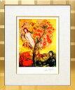 マルク・シャガール「生命の木」作品証明書・展示用フック・限定375部エディション付複製画ジークレ【イ...