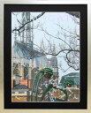 ヒロ・ヤマガタ「チャーチ」展示用フック付アートポスター【インテリア】【アート】【ヒロヤマガタ】【ヒロ ヤマガタ】【絵画インテリア】