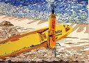 ■鈴木英人■版画「サーファーズ・パラダイス」 1997年