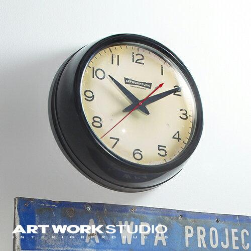 【ポイント10倍】壁掛け時計 ARTWORKSTUDIO アートワークスタジオ Franklin-clock フランクリンクロック スイーブムーブメント 電池式 直径35cm スチール ガラス おしゃれ アメリカン ミッドセンチュリー【アートワークスタジオ公式】