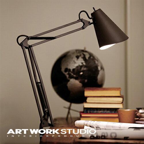 【アートワークスタジオ公式】ARTWORKSTUDIOAW-0369 Snail desk-arm light スネイルデスクアームライト デスクランプ 1灯 E26 40W LED対応 おしゃれ クランプ 北欧 ミッドセンチュリー シンプル【ポイント10倍】