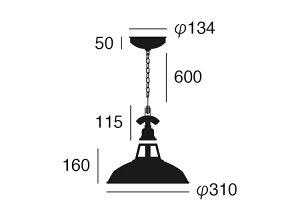 ARTWORKSTUDIO1灯ペンダントライトSS-8037VFisherman's-pendantVINTAGESPECIAL(M)1990'S/1950'S/1930'S