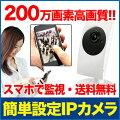 200万画素簡単IPネットワークカメラ
