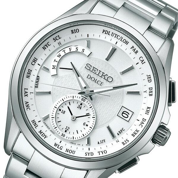 SEIKO セイコー ドルチェ&エクセリーヌ メンズ 腕時計 SADA025 シルバー 国内正規:セレクトショップ NUMBER11