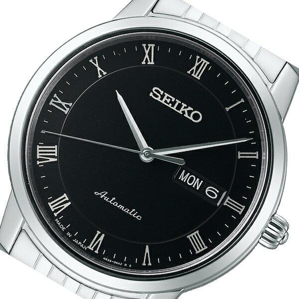 セイコー SEIKO プレザージュ 自動巻き メンズ 腕時計 SARY061 ブラック 国内正規:セレクトショップ NUMBER11